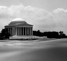 Jefferson Memorial. Washington DC  -  Vintage 1967 by jwhimages