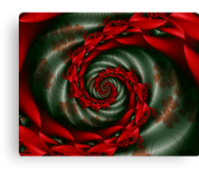 SPCH2 Michelle Image 2 Red Flowers + Parameter Canvas Print