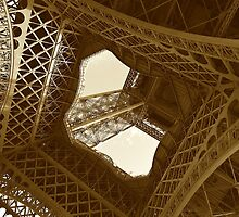 Eiffel tower by domimage
