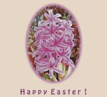 Happy Easter Pink Hyacinth Light Shirts by trevortrent
