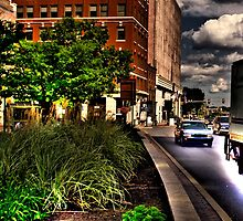 2nd St. HDR by Anthony  Popalo