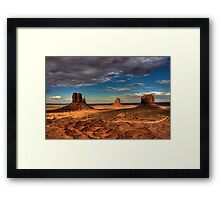 The Mittens of Monument Valley Framed Print