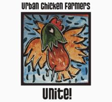 Urban Chicken Farmers Unite! by KFStudios