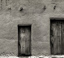 Adobe Wall by Karl Eschenbach