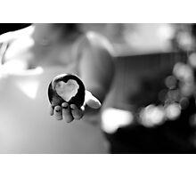 Love Bite  ~  For my Valentine Photographic Print