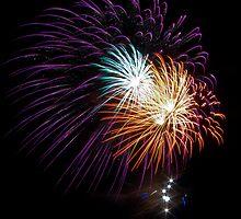 Busselton Fireworks by Julia Harwood