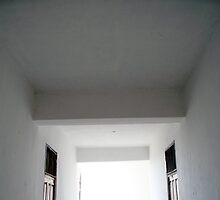 Hallway in the Boys' Hostel by Angie Spicer