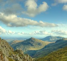 Bowfell Views by VoluntaryRanger