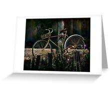 The Queen of Bicycles Greeting Card
