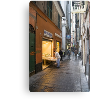 Alleys of Genoa 3 Metal Print