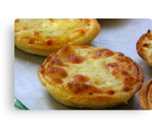 Cheese Pastry Canvas Print