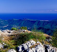 LIGURIA MOUNTAINS & SEA Carmo mount & Corsica by Enrico Pelos