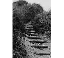 Dune Steps Photographic Print
