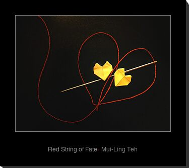 """Red String of Fate"" by Mui-Ling Teh"