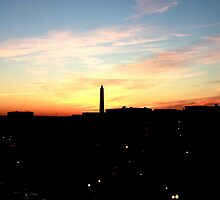 Washington Monument by Yogesh  Mhatre