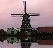 Windmill Zaanse Schans by DutchLumix