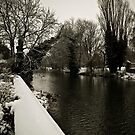 River Welland in the Snow by RayDevlin