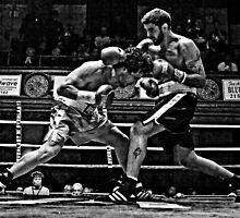 Blue Horizon Boxers 3 by Ed Wheeler