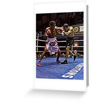 Blue Horizon Boxers 4 Greeting Card