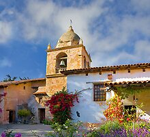 Carmel Mission by Maria Draper