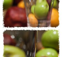 Diptych - Fruit Drink  by Johanne Brunet