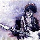 Jazz Rock Guitarist Jimi Hendrix variant by Yuriy Shevchuk