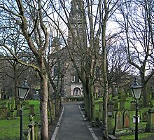 The Path to St Cuthbert's Church by Tom Gomez