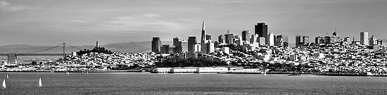 San Francisco Skyline by njordphoto