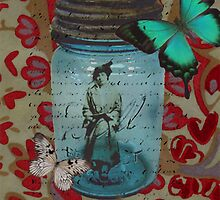 Few things in life are as exciting to contemplate as life inside a fruit jar by Jennifer Barger