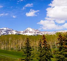 Telluride Colorado Spring Panoramic by kclcarlson