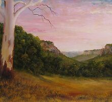 Escarpment View by John Cocoris
