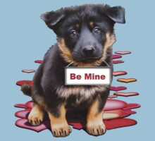 Babe, a German Shepherd Valentine by bhymer