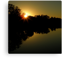 Farewell To The Day ~ Part Eight Canvas Print