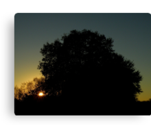 Farewell To The Day ~ Part Nine Canvas Print