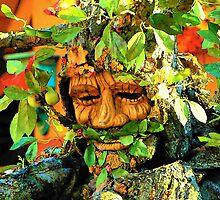Green Man by Rodney Williams