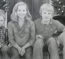 Holiday Portrait Commission by Chelsea Kerwath