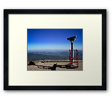 View From the Top- Mount Washington, NH Framed Print