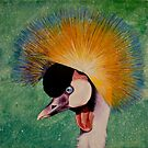 East African Crown Crane by Acey Thompson