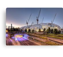 Melbourne Rectangular Stadium • Melbourne • Victoria Canvas Print