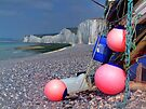 Fishing Floats - Birling Gap - East Sussex by Colin J Williams Photography