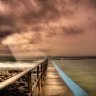 Forster ocean baths by Rodney Trenchard