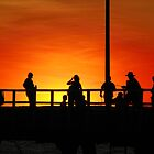 Jetty Sunset - Derby Western Australia by Rosdenphoto