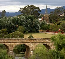 Richmond Bridge, Tasmania by Fiona Kersey