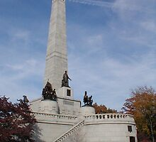 Abraham Lincoln Tomb by AJ Belongia