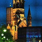 Kaiser Wilhelm Memorial Church Berlin by fantastisch2003