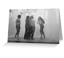 Fountains of Fun Greeting Card