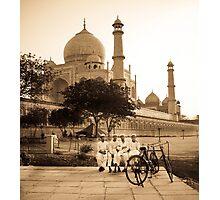 Taj Boys Photographic Print