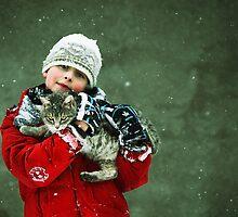 Snowing by Zoltan Madacsi