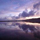 Reflective Chances - A Byron Bay Morning by Timothy Roberts