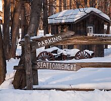 Stationnement by Wanda Dumas